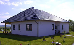 Einfamilienh user baustile grundformen haustypen for Baustile einfamilienhaus